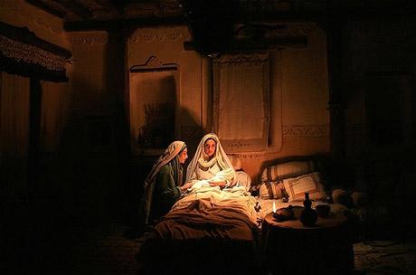عکس فیلم حضرت محمد در نقش آمنه مادر حضرت