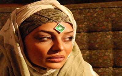 عکس ساره بیات در فیلم حضرت محمد