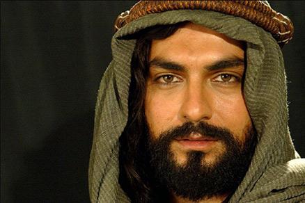 مهدی پاکدل در نقش ابئطالب در فیلم حضرت محمد