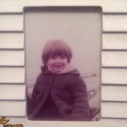 عکس بهنوش طباطبایی در کودکی