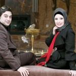 عکس جدید نیوشا ضیغمی در کنار همسرش