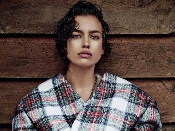 تصاویر ایرنیا شایک مدل روسی نامزد رونالدو
