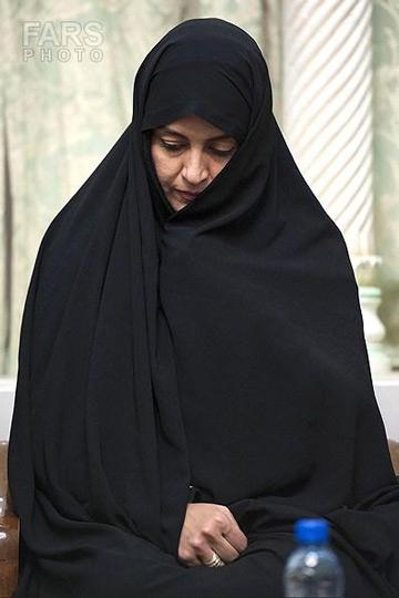 عکس مریلا زارعی با حجاب کامل