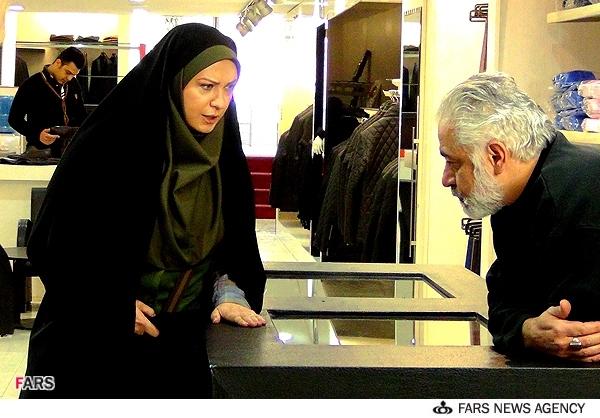 عکسهای سریال خواب بلند , مجید مشیری و لعیا زنگنه