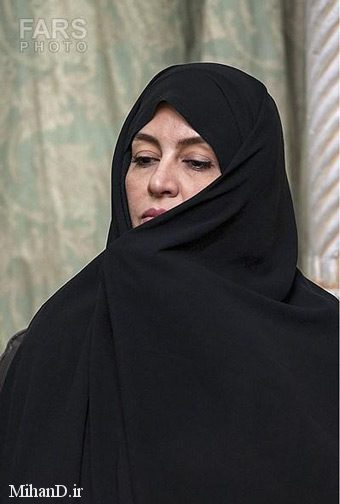 عکس مریلا زارعی با حجاب چادر