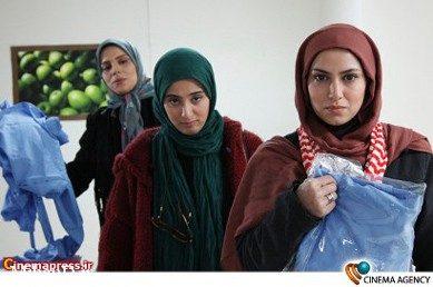 روشنک عجمیان و آناهیتا افشار در فیلم تلویزیونی دختران معجزه به کارگردانی شبنم عرفی نژاد