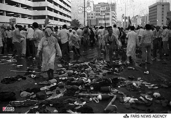حجاج کشته شده ایرانی در حج خونین 66