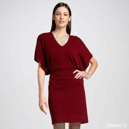 پوشش های زنانه پاییزی و زمستانی,مدل لباس زنانه زمستانی