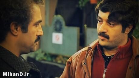 احمد مهران فر و محسن تنابنده در نمایی از مجموعه پایتخت ۳ , عکس سریال پایتخت3 , عکس های بازیگران سریال پایتخت 3, عکسهای سریال پایتخت 3 , سریال پایتخت 3