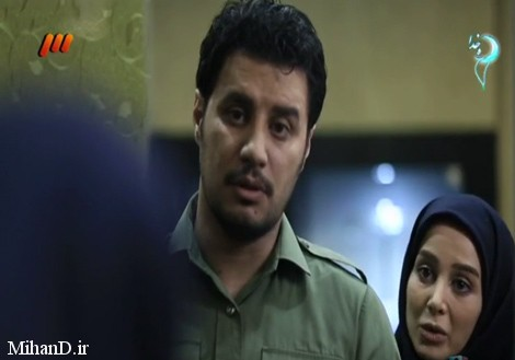 الناز حبیبی و جواد عزتی در سریال دردسرهای عظیم2