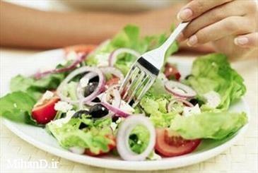رژیم غذایی مدیترانه ای سرطان رحم را کاهش می دهد
