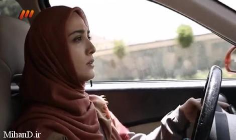 مینا ساداتی و عکس های سریال تنهایی لیلا