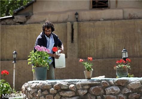 بهروز شعیبی در عکسهای سریال تنهایی لیلا