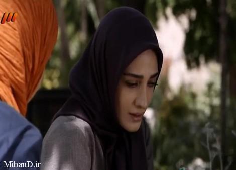 مینا ساداتی در عکس های سریال تنهایی لیلا