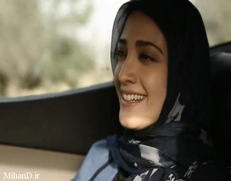 عکس مینا ساداتی برای سریال تنهایی لیلا