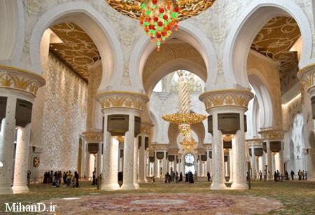 عکسهای مسجد شیخ زاید , تصاویر مسجد شیخ زاید امارات, زیباترین مساجد جهان, مسجد شیخ زاید در امارات, مسجد شیخ زاید در ابوظبی