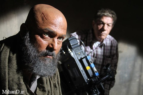 حسین یاری در عکس پشت صحنه فیلم مزارشریف, تصاویر بازیگران فیلم سینمایی مزارشریف, مزارشریف
