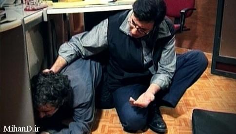 امیرجعفری و محمود بصیری در عکس های سریال بدون شرح , تصاویر بازیگران سریال بدون شرح , عکس هایی از مجموعه تلویزیونی بدون شرح , سریال بدون شرح