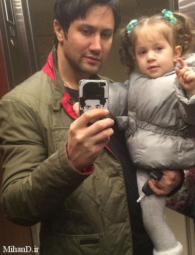 عکس های شاهرخ استخری و دخترش