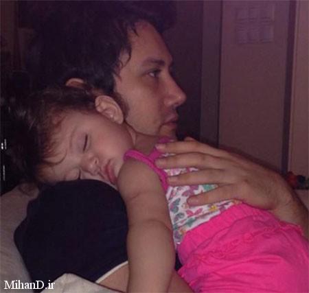 شاهرخ استخری،عکس های شاهرخ استخری و دخترش